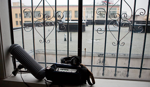 Audio recorder and the Mission District