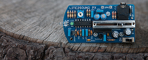 Rare Waves' Lite2Sound PX, by Eric Archer: A photonic microphone!
