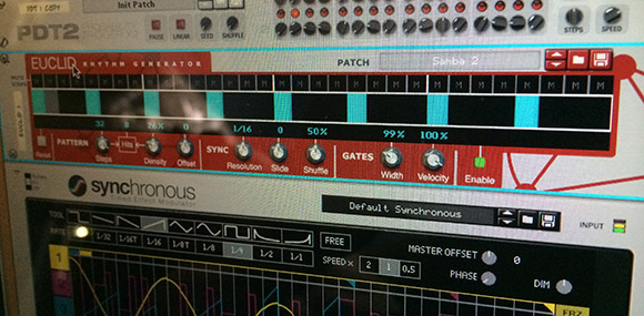 Probability-driven drums, Euclidian synths, and waveform-controlled gates and velocities. Oh my.